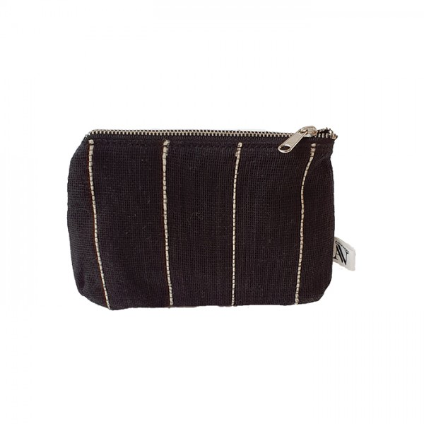 Toiletry Bag Jute M Black