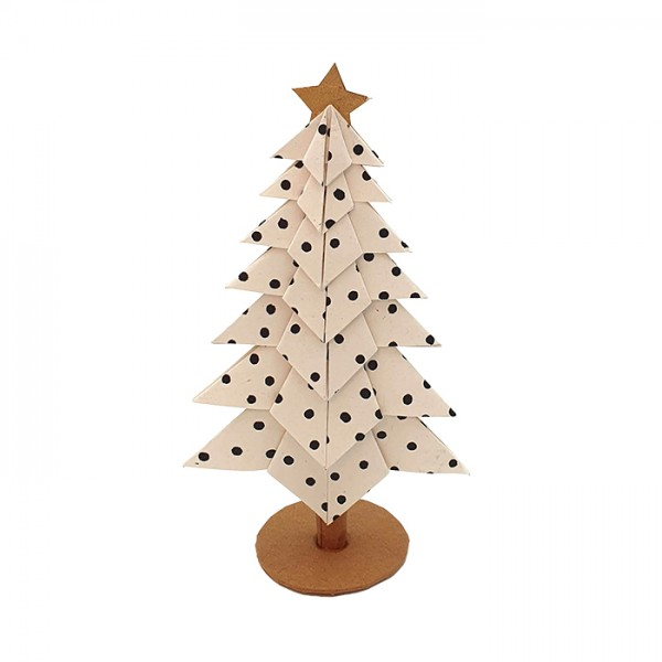 X-MasTree Dots White 15cm