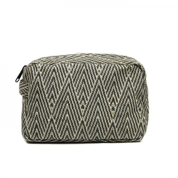 Toiletry bag Herringbone M
